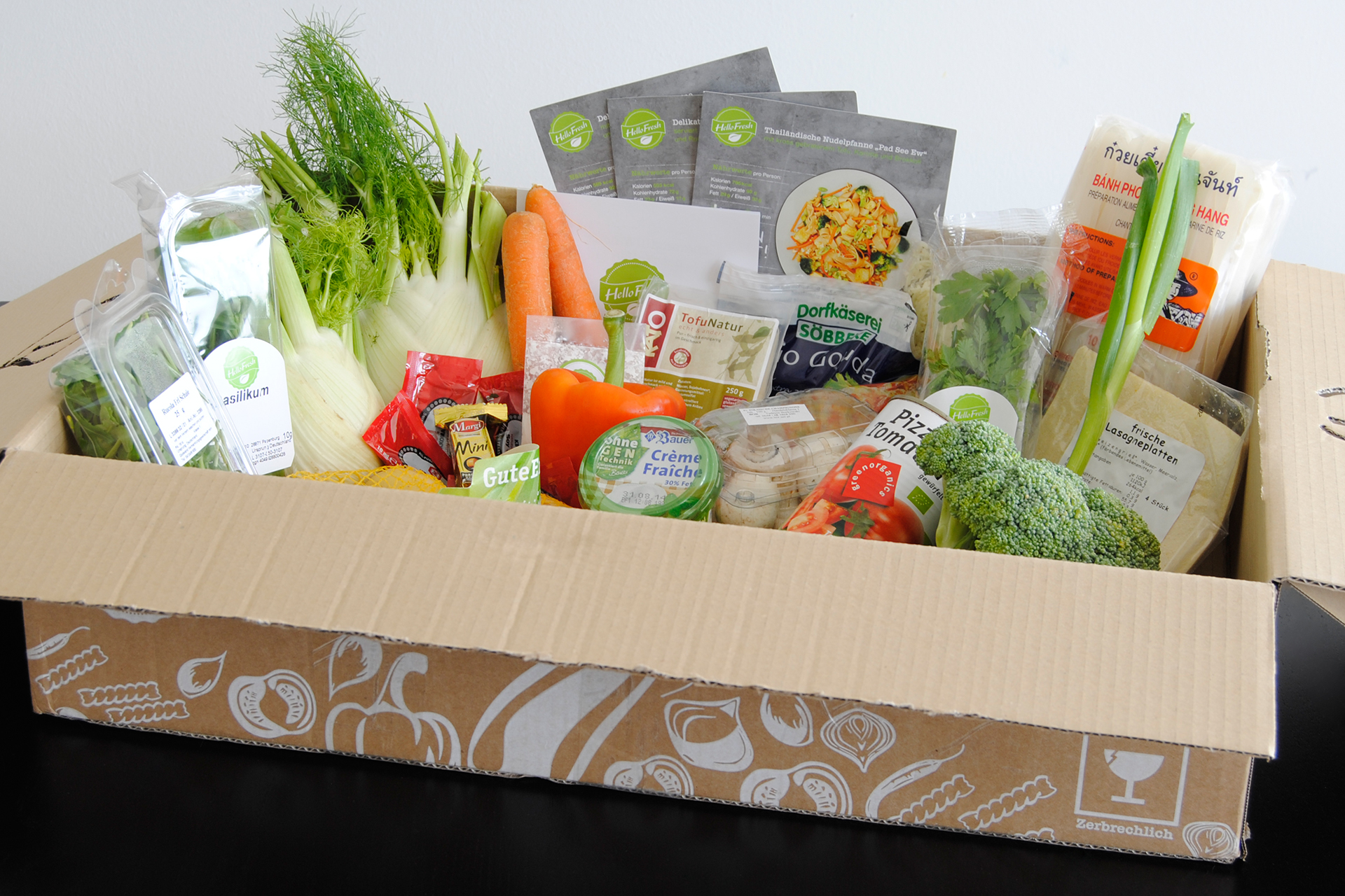 unboxing hellofresh veggie box august 2014 abo. Black Bedroom Furniture Sets. Home Design Ideas