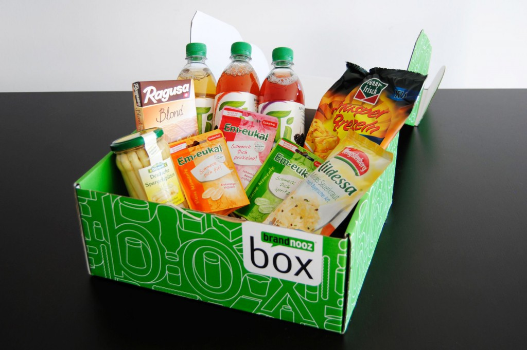 brandnooz box Unboxing Oktober 2014