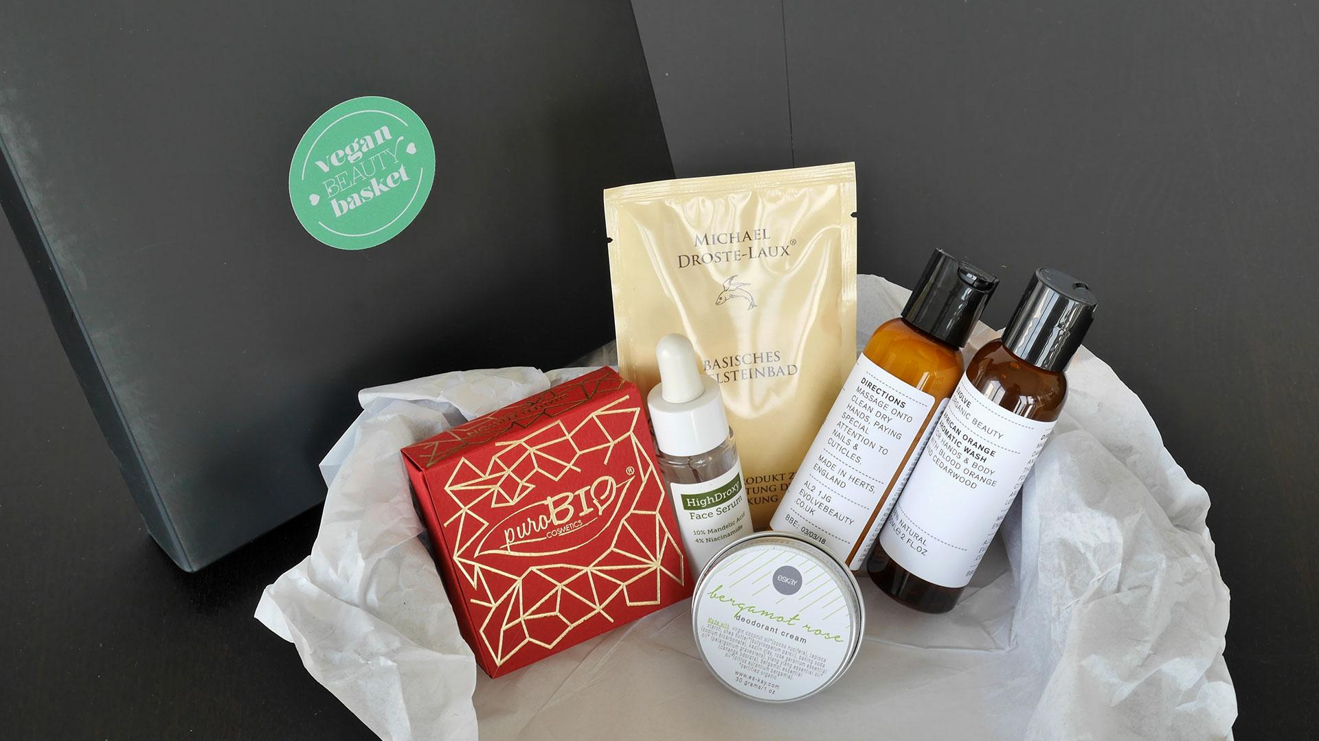 unboxing vegan beauty basket m rz 2016 abo. Black Bedroom Furniture Sets. Home Design Ideas