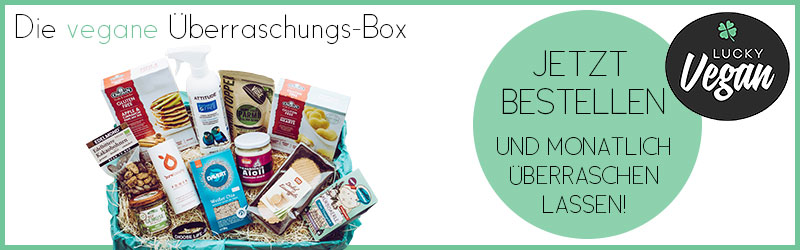 Lucky Vegan Box Banner