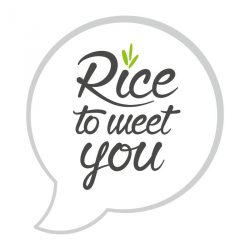 Rice to meet you Logo
