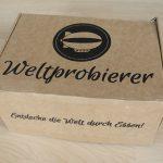 [Unboxing] Weltprobierer Box: Dezember 2016