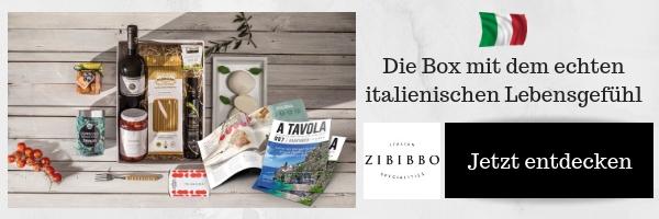 ZIBIBBO Italienische Genussboxen